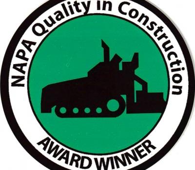 2013 NAPA Quality in Construction Award