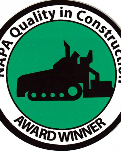 2013 NAPA Quality in Construction Award