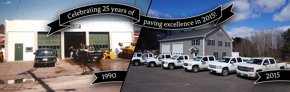 Celebrating 25 years of paving excellence: 1990-2015!